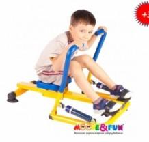 Гребной тренажер детский
