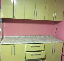 Кухонный гарнитур МДФ островной
