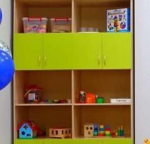 Шкаф для игрушек и дидактического материала
