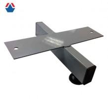 Опора для бревна гимнастического низкая металлическая (100-70)