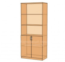 Шкаф широкий полуоткрытый