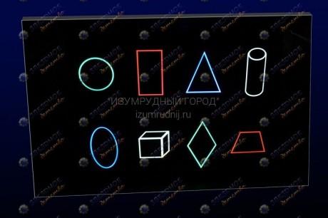 Панель «Цветные фигуры 8»
