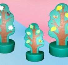 Дидактическое дерево, 4 сезона