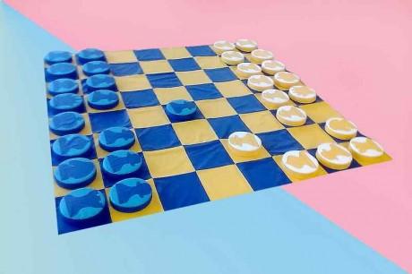 """Игровой набор """"Шашки-Шахматы"""""""