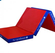 Мат гимнастический складной 2000x1000x100mm 3х