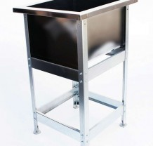 Ванна моечная 1 секционная серия ЭКОНОМ. Нерж. сталь толщина 0,5 мм