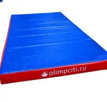 Мат гимнастический школьный 2000x1000x100mm (вин.кожа) СКРУТКА