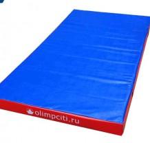 Мат гимнастический школьный 2000x1000x100mm (вин.кожа)-АС