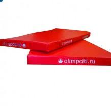 Мат гимнастический школьный 2000x1000x100mm (тент)-АС