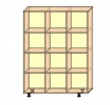Стеллаж для горшков на 12 секций, вертикальный или горизонтальный