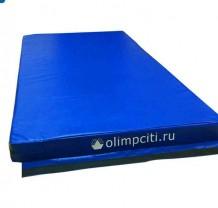 Мат гимнастический школьный Velcro 2000x1000x100mm (вин.кожа)-АС