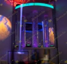 Релаксационный уголок «Отражение» с пузырьковой колонной и фиберволокном