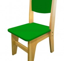 Стул «Вуди» зеленый